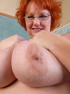 Big nude tits hairy pussy mature fat